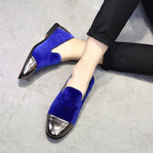 Nuova Moda scarpe e calzature di Personalità famose blue