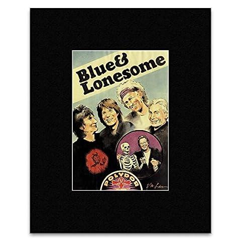 Rolling Stones - New Album Blue & Lonesome Mini Poster - 40.5x30.5cm