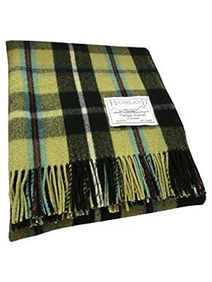 Tartan Tweeds Wool Tartan Travel Rug/Picnic Rug