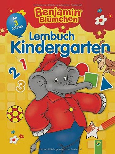 Preisvergleich Produktbild Benjamin Blümchen Lernbuch Kindergarten: Ab 3 Jahren