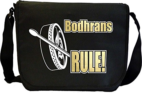 Bodhran Rule - Sheet Music Document Bag Musik Notentasche MusicaliTee