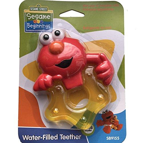 ie Monster Water-Filled Teether - 0-18 months by Sesame Street (Elmo mit Gelben Stern) (Sesame Cookie Monster)