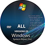 Windows Boot / Repair / Data Recovery Disk XP, VISTA, 7 ,8 , 8.1 & 10!