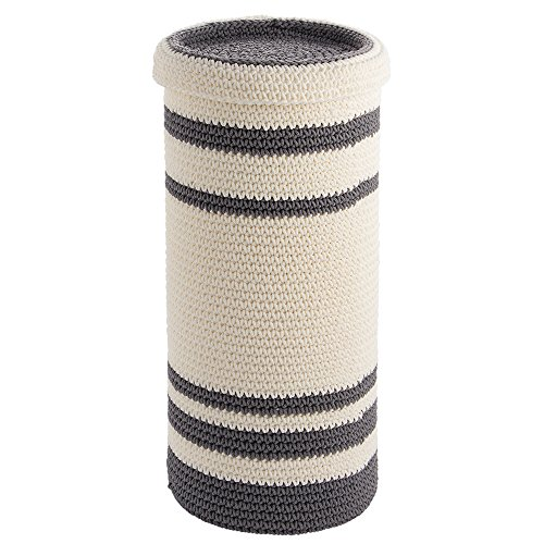 interdesign-ellis-knitted-3-roll-free-standing-toilet-tissue-paper-holder-reserve-gray-ivory