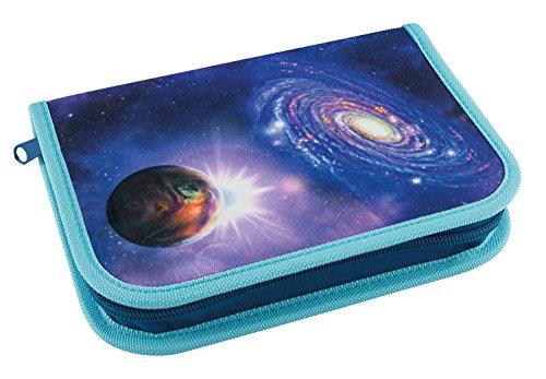Eberhard Faber 577528 - Schüleretui Galaxie, 32 teilig befüllt, blau -