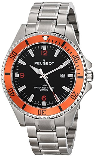 Peugeot Men's 1031OR Stainless Steel Watch