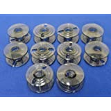 10 SEWING MACHINE BOBBINS WILL FIT CE20,1000, 2000, 3000, 5000, 6000 + MORE
