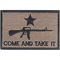 Consoladores AR-15ven y Take It nueva insignia del ejército táctico SWAT Militar parche cinta moral