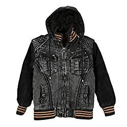 Lilliput Boys Jackets (8907264031813_Black_9-10 Years)