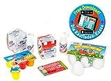 Polly Kaufladen Zubehör Set Eier/ Fruchtzwerge/ Actimel | Kinder Spielzeug für den Kaufmannsladen | Kinderkaufladen Miniaturen