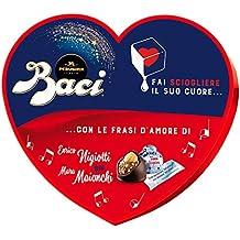 ... bradipo con baci san valentino. Baci Perugina Autografi d Amore  Cioccolatini Ripieni al Gianduia e Nocciola Intera - Scatola Cuore 0edf94972ac