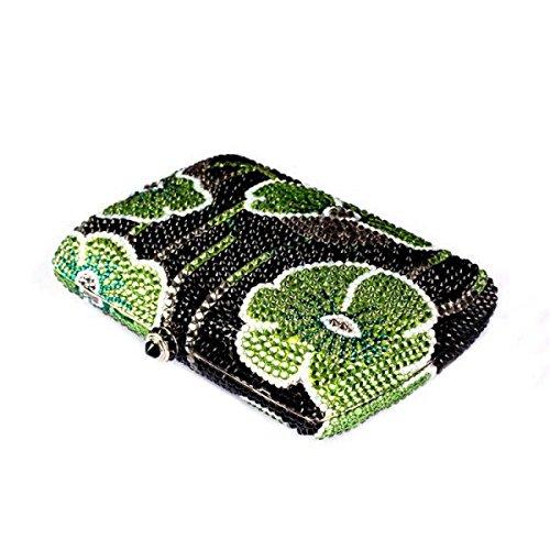 Dinner-Paket Damen- Diamant- Luxus- Bankett- Party- Handtasche OneColor