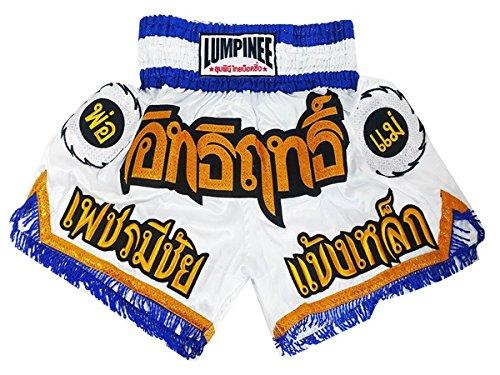 Lumpinee Muay Thai Kick Boxeo Pantalones Boxeo Tailandes : LUM-003 Talla XL