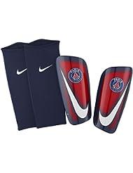 Nike Mercurial Lite-Paris Saint Germain - Espinilleras, color rojo, talla M