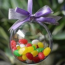 Juego de 6 adornos navide/ños de lujo Decoraci/ón tradicional de /árbol Bolas festivas tem/áticas de Navidad Adornos n/órdicos grises