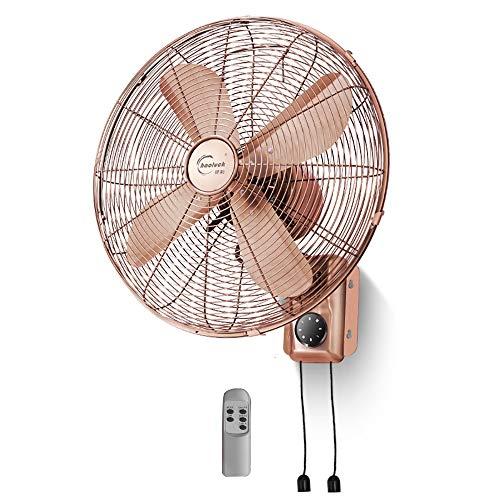 MILAYA JI Bin Shop® Dekorativer Kalter Ventilator des Wandventilators Retro- 450mm / 16 Zoll * (Farbe : 2#)