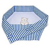FabiMax 6-eck Laufgittereinlage Betty blau