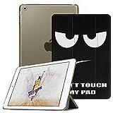 Fintie iPad Mini Hülle - Ultradünne Superleicht Schutzhülle mit transparenter Rückseite Abdeckung Cover mit Auto Schlaf/Wach Funktion für Apple iPad Mini/iPad Mini 2 / iPad Mini 3, Don't Touch