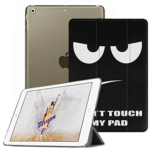 Fintie iPad Mini Hülle - Ultradünne Superleicht Schutzhülle mit transparenter Rückseite Abdeckung Cover mit Auto Schlaf/Wach Funktion für Apple iPad Mini/iPad Mini 2 / iPad Mini 3, Don't Touch (Ipad Apple Magnetische Abdeckung Mini,)