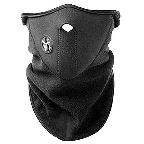 Onogal 4090 Maschera di protezione scaldacollo in neoprene per ciclismo, moto, montagna, marcia