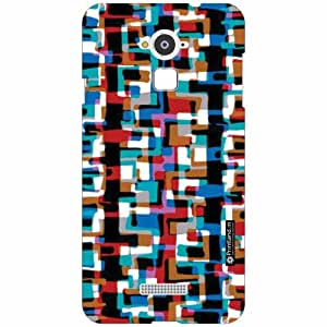 Coolpad Note 3 Back Cover- Silicon Abstract Art Designer Cases