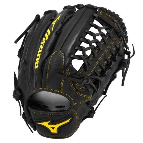 Mizuno gcp81sbk Classic Pro Soft Baseball Handschuh, 312109.FR90.16.1275, Schwarz, 12.75-Inch -