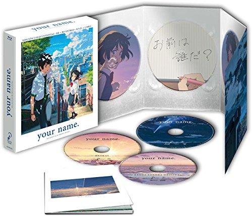 Your Name – Edición Coleccionista [Blu-ray] 51L uO6cThL