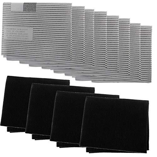 SPARES2GO Kit de filtro de grasa para campana extractora de cocina Elica...