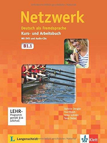 Netzwerk in Teilbanden: Kurs - Und Arbeitsbuch B1 - Teil 1 MIT 2 Audio Cds Und by Stefanie Dengler (2013-12-01)