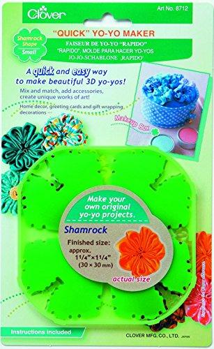 Clover Quick Yo-Yo Maker-Shamrock klein -