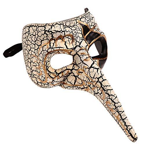Kostüm Sexy Elefanten - Karneval Vintage Schädel Maskerade Maske Kostüm Elefant Vollgesichts Sexy Halloween Karneval Masken Für Erwachsene Cosplay Party,A-OneSize