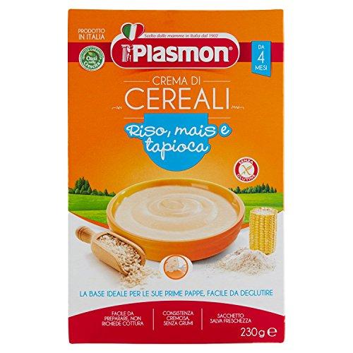 Plasmon Oasi Nella Crescita Crema di Cereali dal 4 Mese 1 Scatola