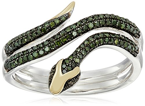 xpy-sterling-silver-and-14k-yellow-gold-snake-wrapped-in-green-diamond-ring-1-3cttw-i2-i3-clarity-si