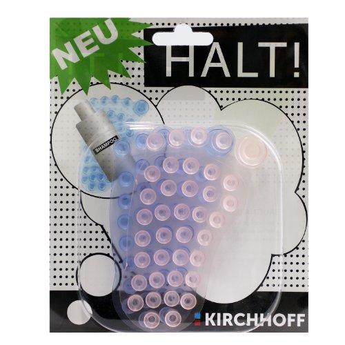 Kirchhoff 17529 Saugnapf Pad Fuß multicolor Duschgelhalter Saugnapfhalter