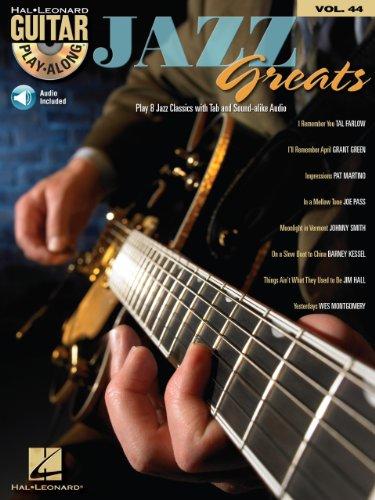Jazz Greats Songbook: Guitar Play-Along Volume 44