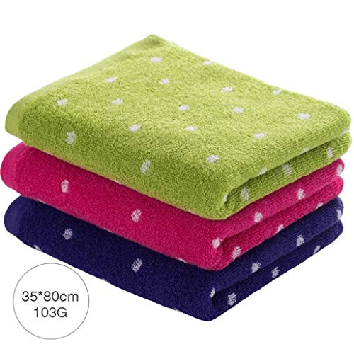 Elementi essenziali per il bagno di famiglia speckle piccolo uomo e donne cotone solido bambini adulti assorbenti wash face small 3 (colore: a) resistente, morbido e super assorbente ( colore : d )