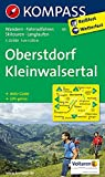 Oberstdorf - Kleinwalsertal: Wanderkarte mit Aktiv Guide, Radwegen, Loipen und alpinen Skitouren. GPS-genau. 1:25000 (KOMPASS-Wanderkarten, Band 3)