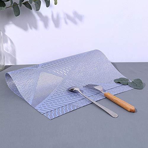 Mitlfuny Weihnachten DIY Home Decor 2019,Klassisches Muster Tischset Kompatibel Crossweave Isolierung Waschbare Tischset