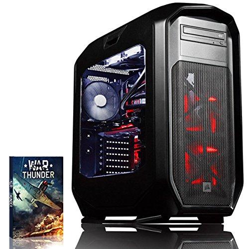 Preisvergleich Produktbild VIBOX Species-X GXS780-119 Gaming PC - 3,8GHz Intel i7 6-Core CPU, GTX 1080, leistungsfähig, Wassergekühlter Desktop Gamer Computer mit 2 Spielgutscheine (Inklusive For Honor Code), Weiß Innenbeleuchtung, lebenslange Garantie* (3,4GHz (3,8GHz Turbo) Superschneller Intel i7 6800K Sechs 6-Core Prozessor CPU, Nvidia GeForce GTX 1080 8GB Grafikkarte, 64GB DDR4 3000MHz RAM, HyperX Savage 120GB SSD, 3TB Festplatte, Corsair H100i GTX Wasserkühler, Corsair 780T Gehäuse, Ohne Windows Betriebssystem)