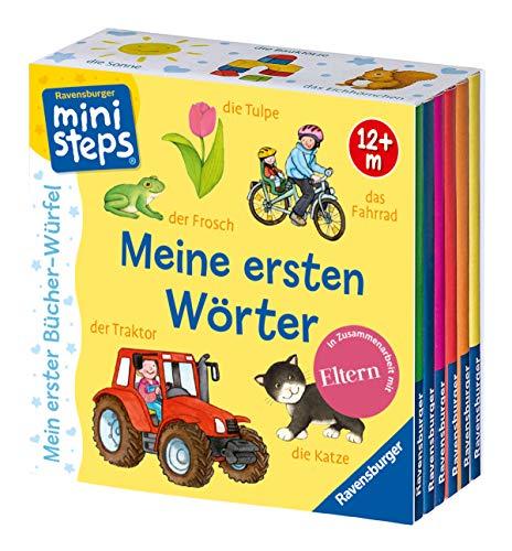 Mein erster Bücher-Würfel: Meine ersten Wörter (Bücher-Set): Ab 12 Monate (ministeps Bücher)