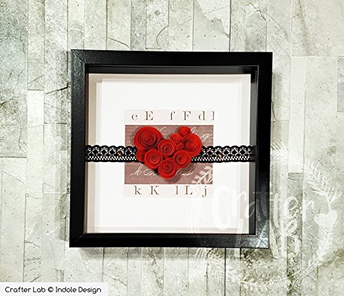I Love Me, quadretto decorativo handmade