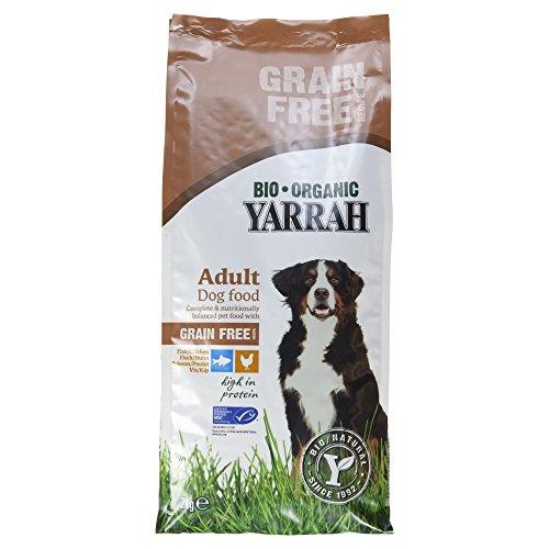 Yarrah Bio Hundefutter Huhn und Fisch, getreidefrei, 1er Pack (1 x 2 kg)