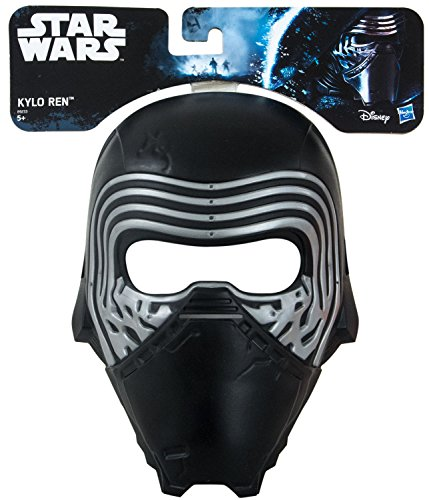 Hasbro Star Wars Kylo Ren Maske für Kinder-Kostüm (Rebel Fighter Star Wars Kostüm)