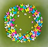 ElecMotive 3D Abnehmbar Schmetterlinge Wandaufkleber Wandtattoo Wandbilder Wandsticker Dekoration für