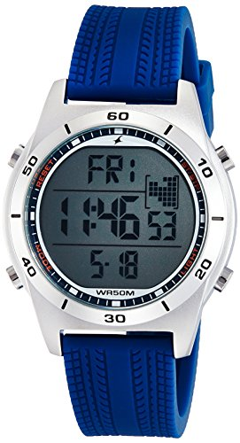 Fastrack Digital Black Dial Men's Watch-NK38033SP02
