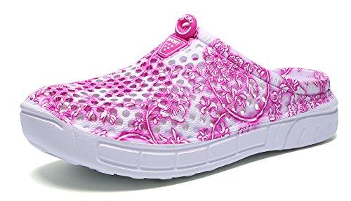 Eagsouni Sabots Mules Jardin Chaussures de Plage Piscine Sandales Salle de Bains Outdoor Chaussons Homme Femme