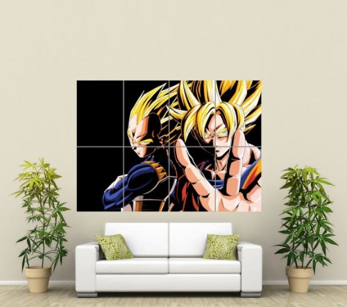 DRAGON-BALL-Z-GIANT-ART-AFICHE-CARTEL-IMPRIMIR-CARTELLO-POSTER-PICTURE-PRINT-ST591