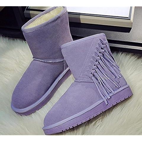 I nuovi scarponi da neve caldi stivaletti