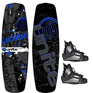 Base Sports Revolver 140 Package Wakeboard mit Wakeboardbindung Blue