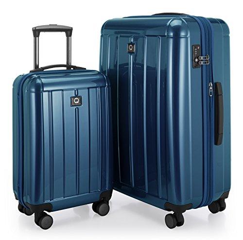 Hauptstadtkoffer Juego de maletas, azul (Azul) – 82730012